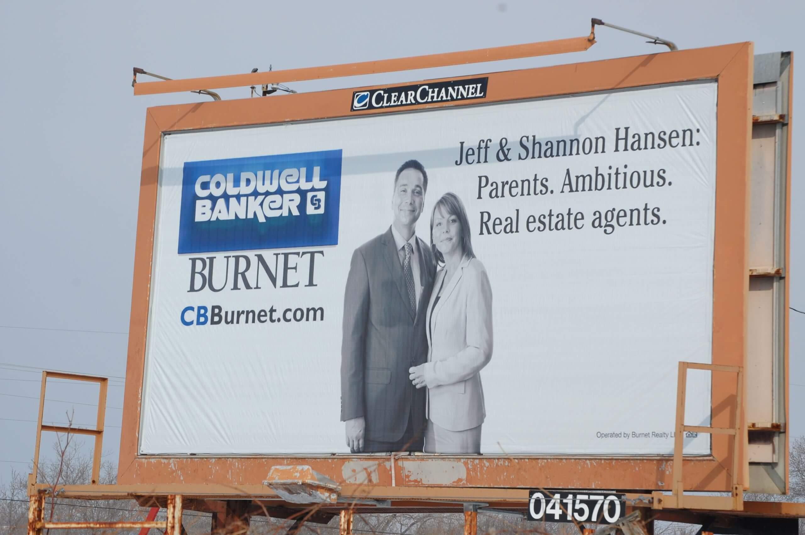real estate billboard