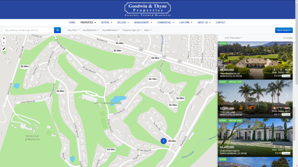 Agent-owned real estate websites