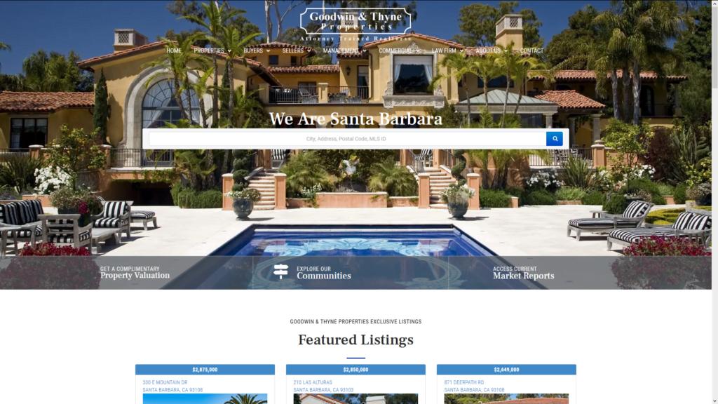 Custom WordPress IDX Real Estate Website