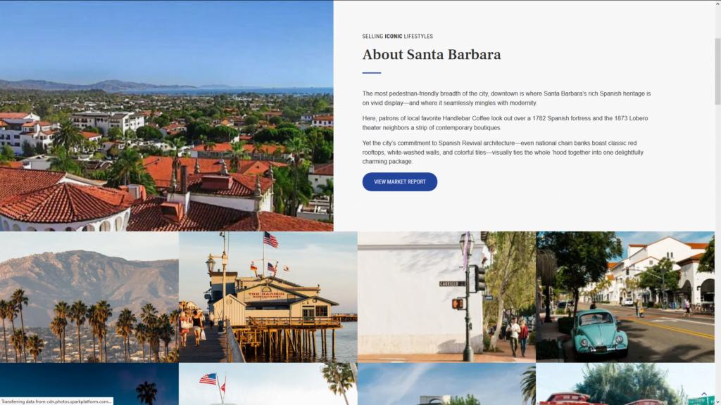 Custom WordPress IDX Real Estate Website Santa Barbara