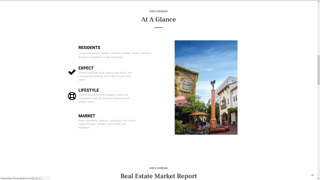 Custom WordPress IDX Real Estate Website Community Page