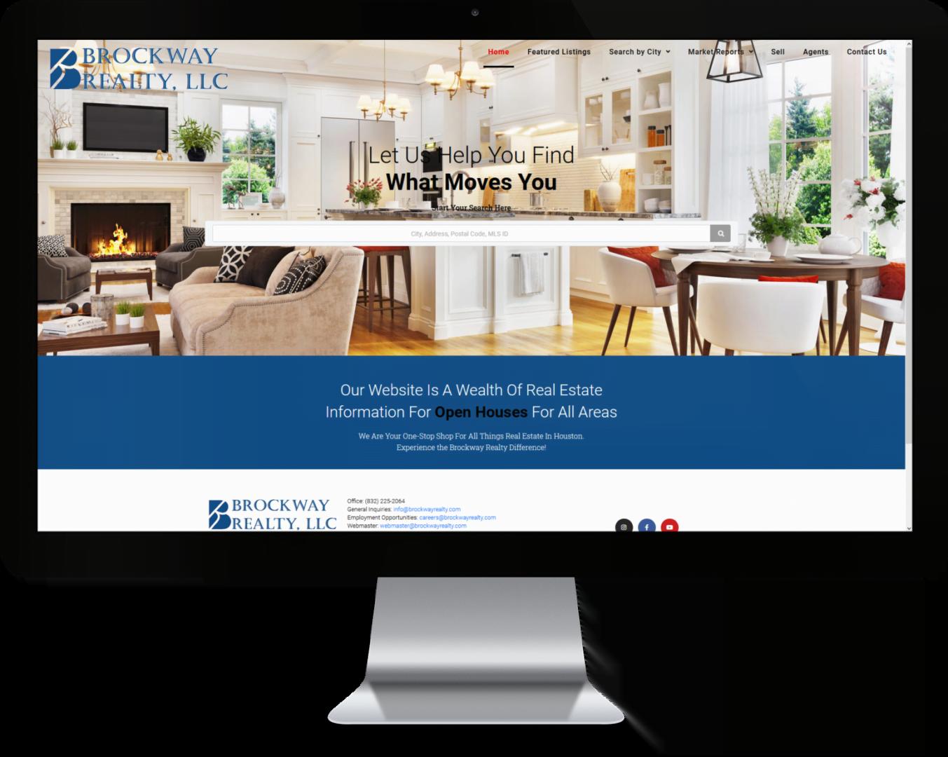 Brockway Realty Custom WordPress IDX Real Estate Website Design by CHEM.digital