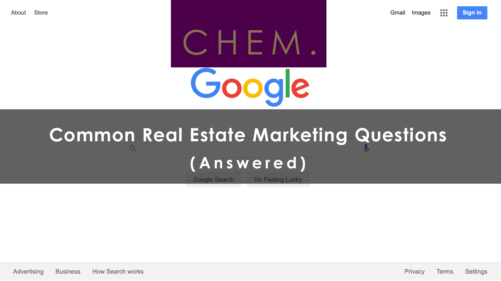 Common Real Estate Marketing Questions (answered)