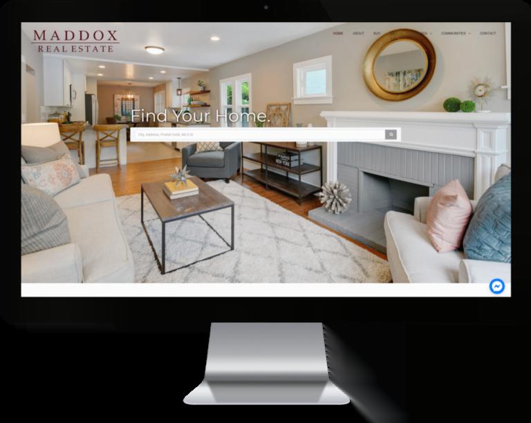 Maddox Real Estate Custom WordPress IDX Real Estate Website by CHEM.digital