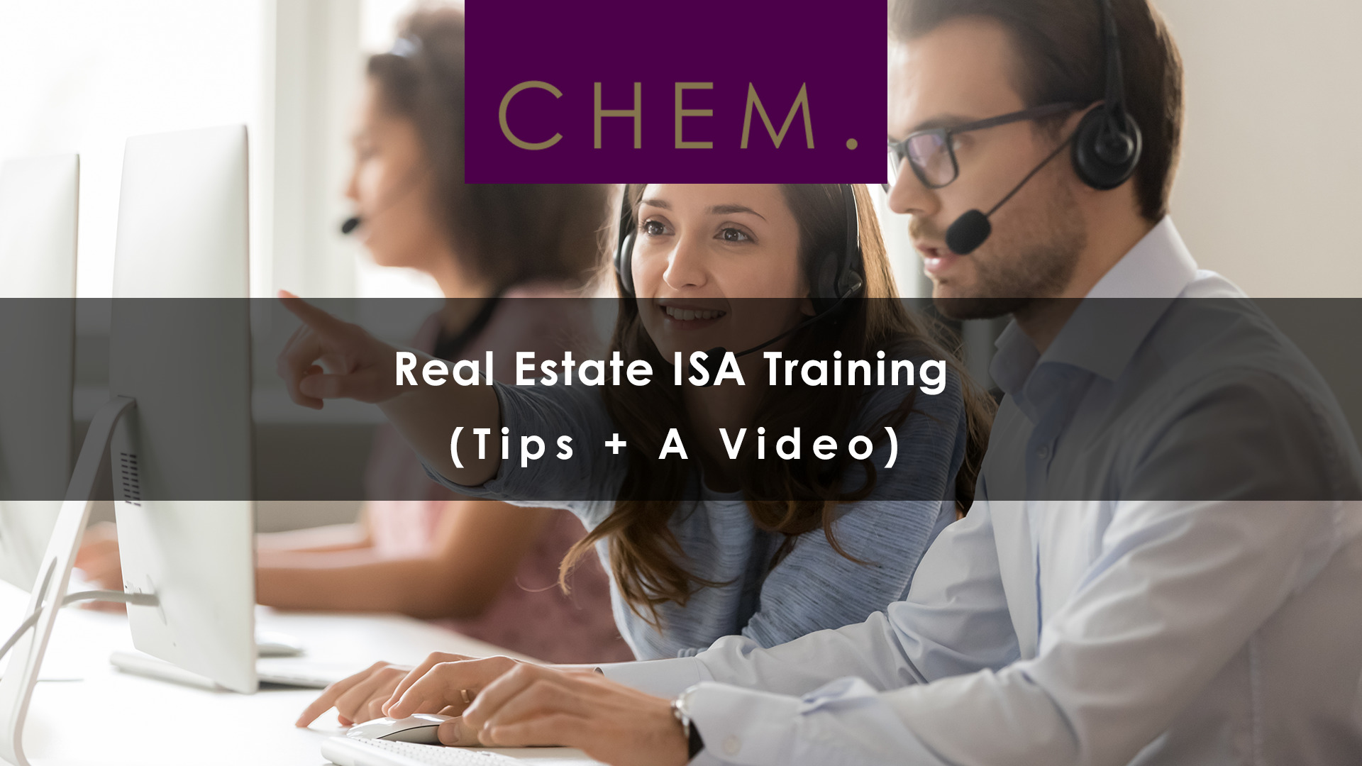 Real Estate ISA Training (Tips + A Video)