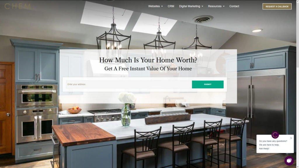 Real Estate Seller Leads Landing Page