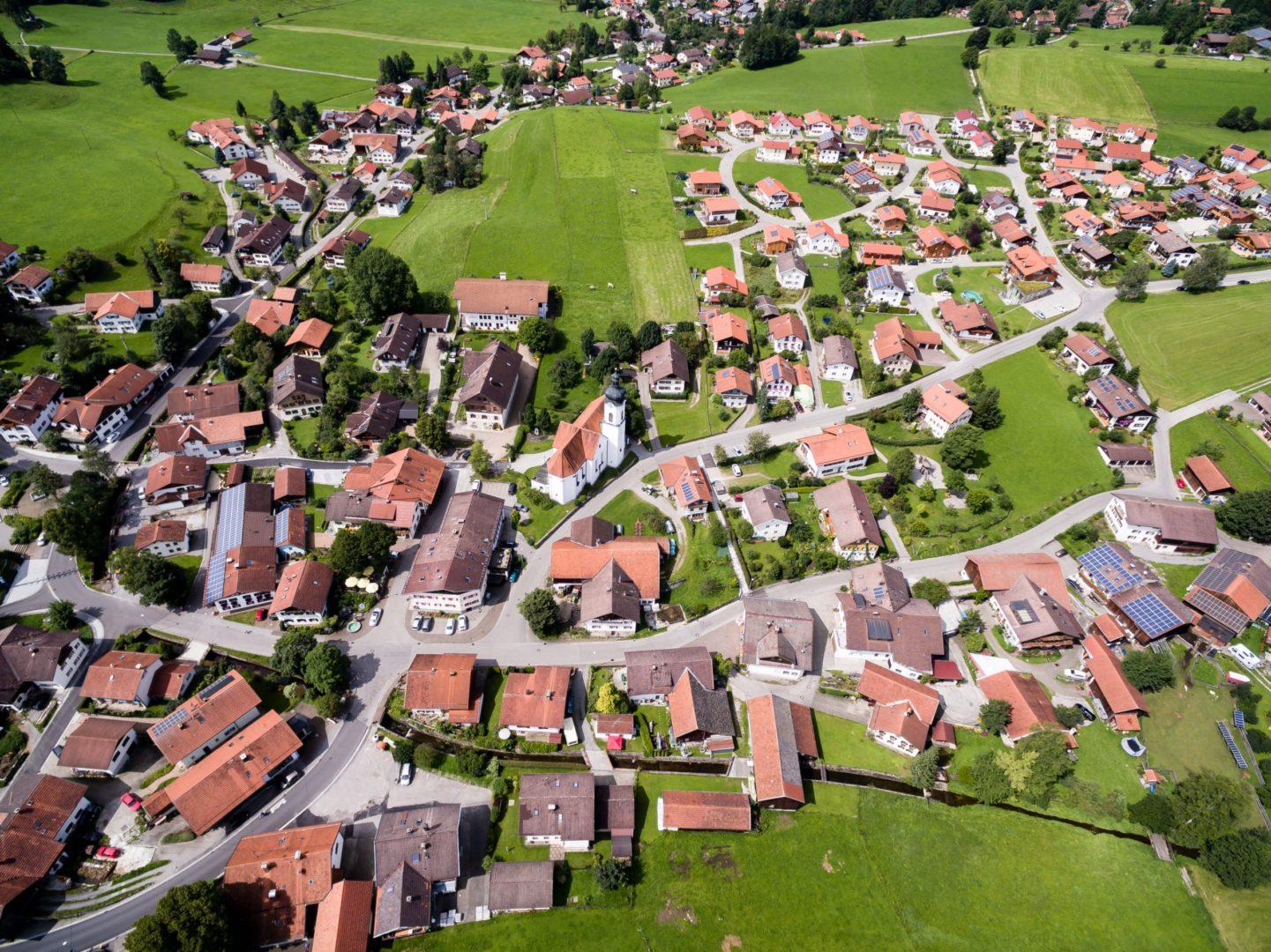 real estate website community guides