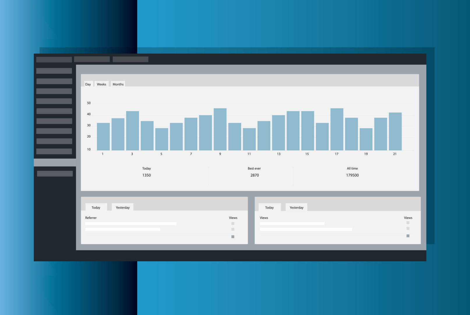 You might be interested in being able to see traffic stats by tracking visitors to your WordPress IDX website.